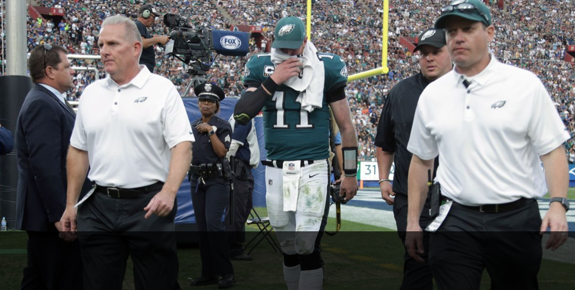 Alan Truex:  Carson Wentz was the quarterback of the future.  Now the future is murky